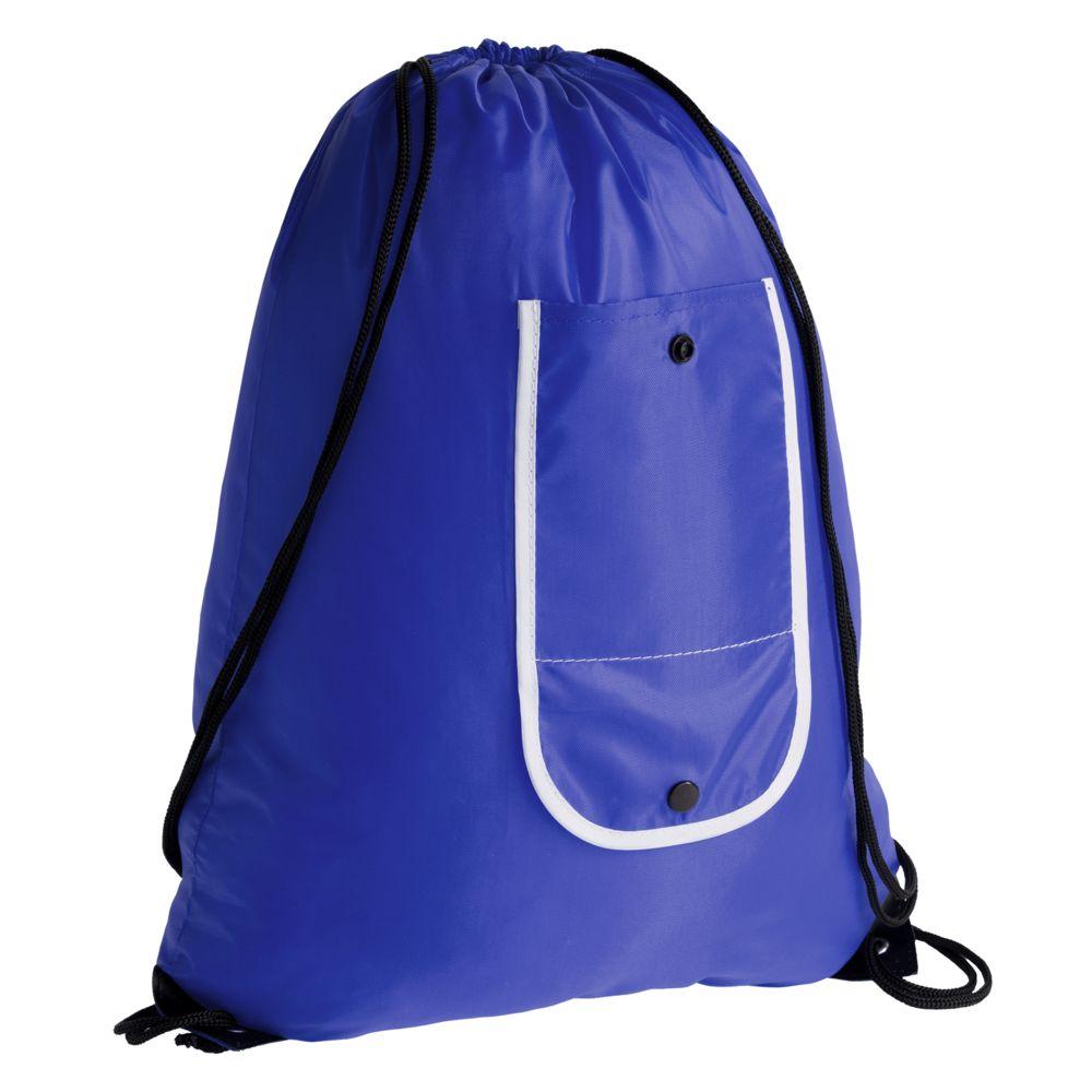 Рюкзак складной Unit Roll, синий