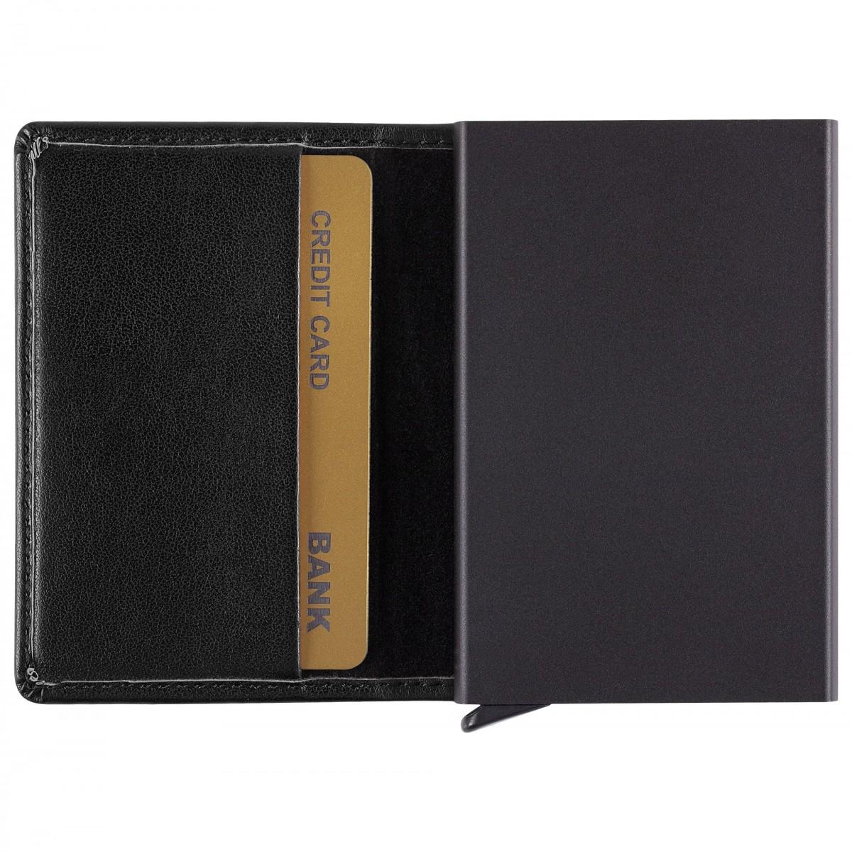 Футляр для кредитных карт Stroll, черный