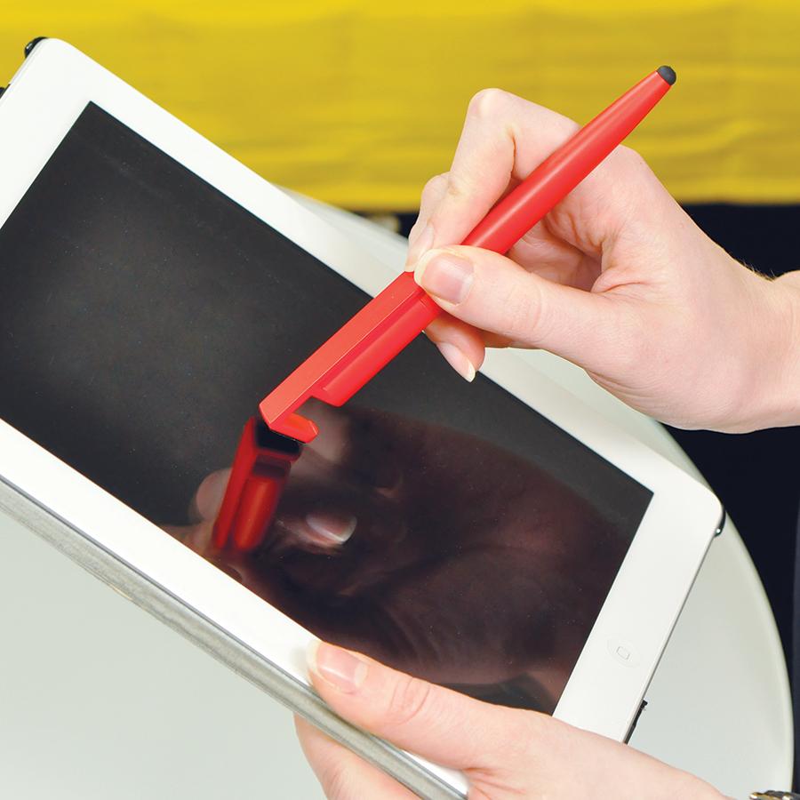 N3, ручка шариковая со стилусом, черный, пластик