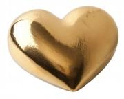 Фарфоровое сердце «Golden Heart»