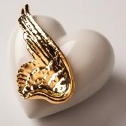 Фарфоровое сердце «Wind of Luck»