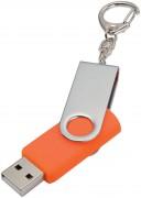 Флешка Twist, оранжевая, 8 Гб