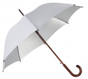 Зонт-трость Unit Standard, серебристый