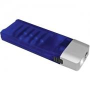 Набор отверток с фонариком; синий с серебристым; 9,8х3,2х1,8 см; тампопечать