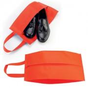 Футляр для обуви на молнии, красный