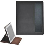 Чехол-подставка под iPAD 'Смарт',  черный, 19,5x24 см,  термопластик, тиснение, гравировка