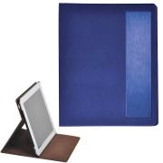 Чехол-подставка под iPAD 'Смарт',  синий,  19,5x24 см,  термопластик, тиснение, гравировка