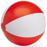 Мяч надувной 'ЗЕБРА',  красный, 45 см, ПВХ, шелкография