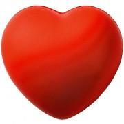 Антистресс 'Сердце'; красный; 7,6х7х5,4 см; вспененный каучук; тампопечать