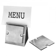 Набор 'Dinner':подставка под кружку/стакан (6шт) и держатель для меню;10,5х7,8х10,5 см;8,3х8,3х0,2см