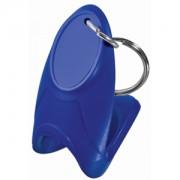 Открывалка 'Quick up'; синий; 6х3х4 см; пластик; тампопечать