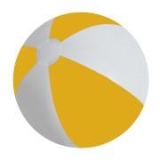 Мяч надувной 'ЗЕБРА', желтый, 45 см, ПВХ, шелкография
