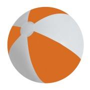 Мяч надувной 'ЗЕБРА',  оранжевый, 45 см, ПВХ, шелкография