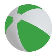 Мяч надувной 'ЗЕБРА',  зеленый, 45 см, ПВХ, шелкография
