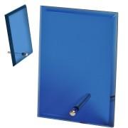 Стела 'Pride' в подарочной коробке,синяя, 15,2х10,1х1см,стекло