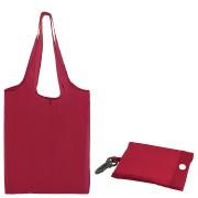 Сумка для покупок 'Shopping'; красный; 41х38х0,2 см (в сложенном виде 8,5х12х1см); Полиэс; шелкограф