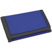 Кошелек 'Smart'; синий; 8х12,5х1 см; полиэстер; шелкография