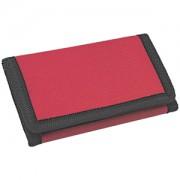 Кошелек 'Smart'; красный; 8х12,5х1 см; полиэстер; шелкография
