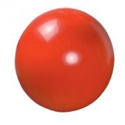Мяч пляжный надувной; красный; D=40 см (накачан), D=50 см (не накачан), ПВХ