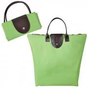 Сумка для шопинга, 'Glam UP'  зелёный, 39х29х7, Полиэстер 600D, иск кожа