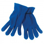 Перчатки 'Monti', мужской размер, синий, флис, 200 гр/м2