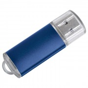 USB flash-карта 'Assorti' (8Гб),синяя,5,5х1,7х0,6см,металл