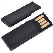 USB flash-карта 'Clip' (8Гб),черная,3,8х1,2х0,5см,пластик