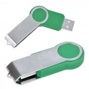 USB flash-карта 'Swing' (8Гб),зеленая,6х2,3х1см,металл,пластик