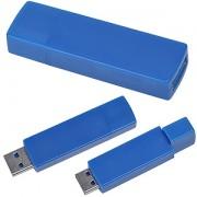 USB flash-карта 'Twist' (8Гб),синяя, 6х1,7х1см,пластик