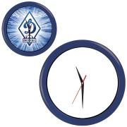 Часы настенные 'ПРОМО' разборные ; синий, D28,5 см; пластик/стекло