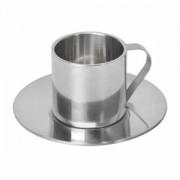 Кофейная пара 'Coffemania'; 100 мл; металл; лазерная гравировка