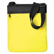 Промо сумка на плечо 'Simple'; желтый; 23х28 см; полиэстер; шелкография