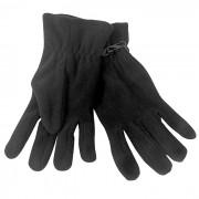 Перчатки 'Monti', женский размер, черный, флис, 200 гр/м2