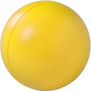 Антистресс 'Мяч', желтый, D=6,3см, вспененный каучук