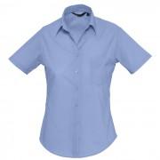 Рубашка'Escape', васильковый_L, 65% полиэстер, 35% хлопок, 105г/м2