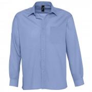 Рубашка'Baltimore', васильковый_M, 65% полиэстер, 35% хлопок, 105г/м2