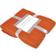 Плед 'MOHAIR', оранжевый,  130х150 см; акрил,