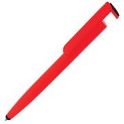 N3, ручка шариковая со стилусом, красный, пластик