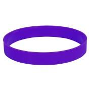 Браслет силиконовый 'Фантазия-2';  D6,5см;  фиолетовый