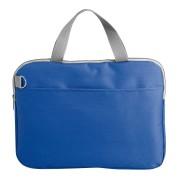 Конференц-сумка 'Тодес-2' с отделением для ноутбука, синий, 40*30*2,5 см; полиэстер 600D; шелкогр