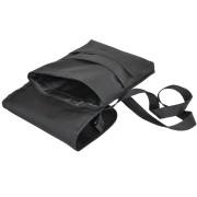 Cумка 'CASUAL' ,  черный , 21х27 см; полиэстер ; шелкография