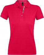 Рубашка поло женская PORTLAND WOMEN 200 красная