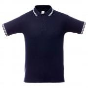 Рубашка поло Virma Stripes, темно-синяя