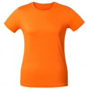 Футболка женская T-bolka Lady, оранжевая
