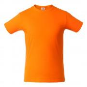 Футболка мужская HEAVY, оранжевая