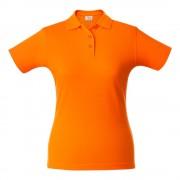 Рубашка поло женская SURF LADY, оранжевая