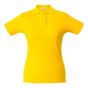 Рубашка поло женская SURF LADY, желтая
