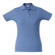 Рубашка поло женская SURF LADY, голубая