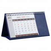 Календарь настольный, синий