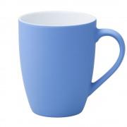 Кружка Good Morning c прорезиненным покрытием, голубая